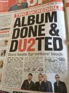 new U2 album