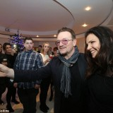 Bono and Ali at the Leopardstown St Stephen's Day races